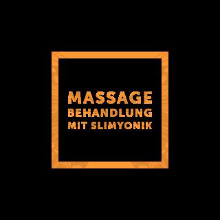 Massagebehandlung mit Slimyonik